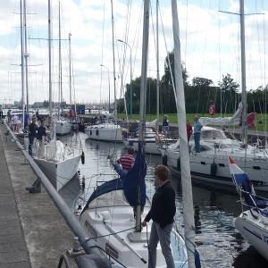 Flottielje zeilen vanuit Nederland
